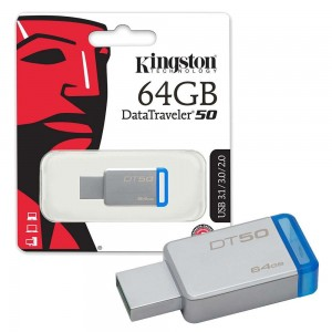 KINGSTON PENDRIVE DT50 64GB 30 DT50/64GB